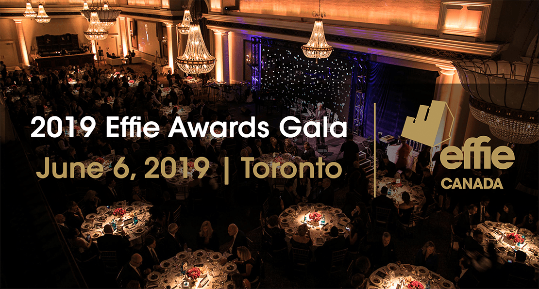 Celebrate in style at the inaugural Effie Canada Gala